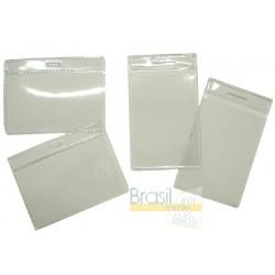 823b56fa2 Bolsa em PVC cristal 58 x 89 0,20mm - Horizontal - Brasil Crachás